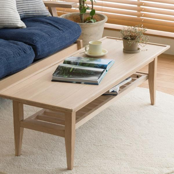 NOANA リビングテーブル 北欧 ナチュラル 無垢 アッシュ タモ 木製 おしゃれ 送料無料