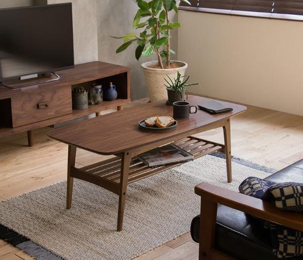 コーヒーテーブル Tomte Sサイズ 北欧 ヴィンテージ ビンテージ インダストリアル ブラウン 木製 ウォールナット 即日出荷可能