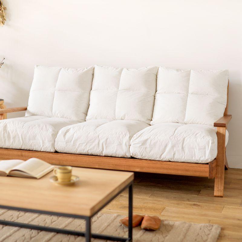 ソファー クッション NOANA 専用 座面 替えクッション 3人掛けソファー用 即日出荷可能
