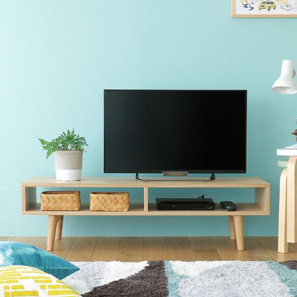 テレビ台 Levy ローボード 北欧 ナチュラル シンプル 32型 木製 完成品 おしゃれ 送料無料 即日出荷可能