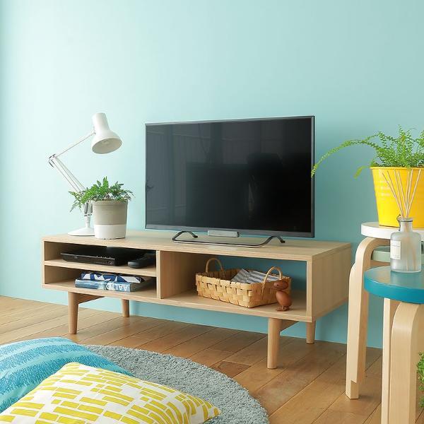 テレビ台 Levy ローボード ハイタイプ 北欧 ナチュラル シンプル 32型 木製 完成品 おしゃれ 送料無料 即日出荷可能