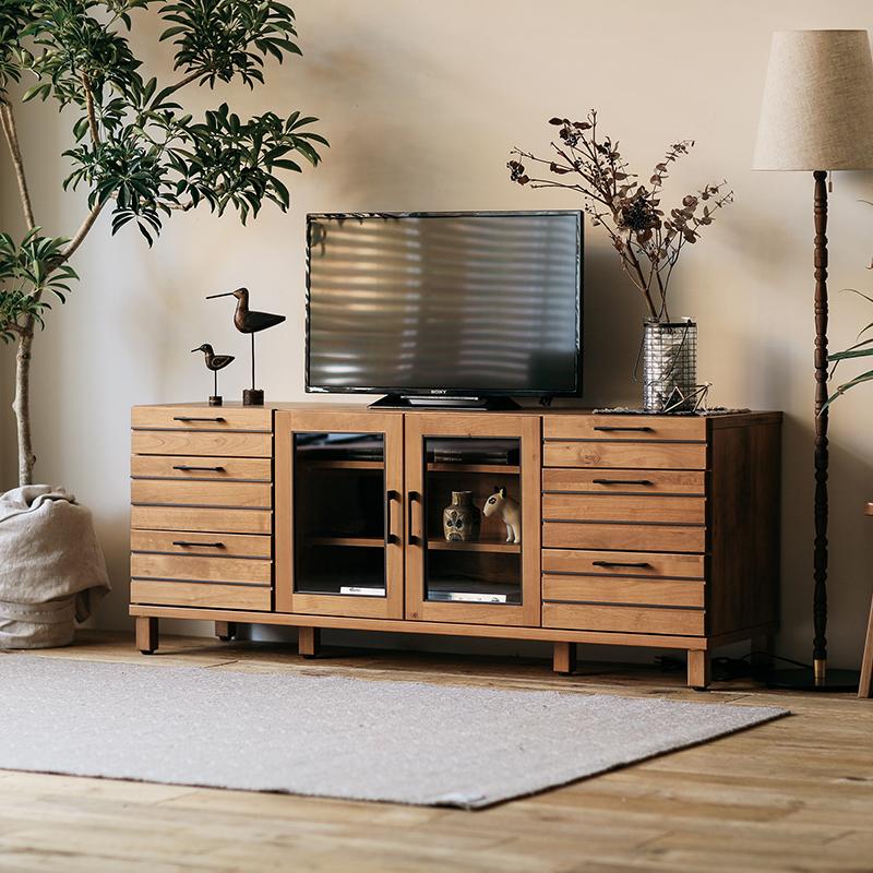 テレビ台 テレビボード LINA 150 ハイタイプ 北欧 日本製 ヴィンテージ 木製 32型対応 40型対応 43型対応 50型対応 おしゃれ 送料無料 【開梱設置付】