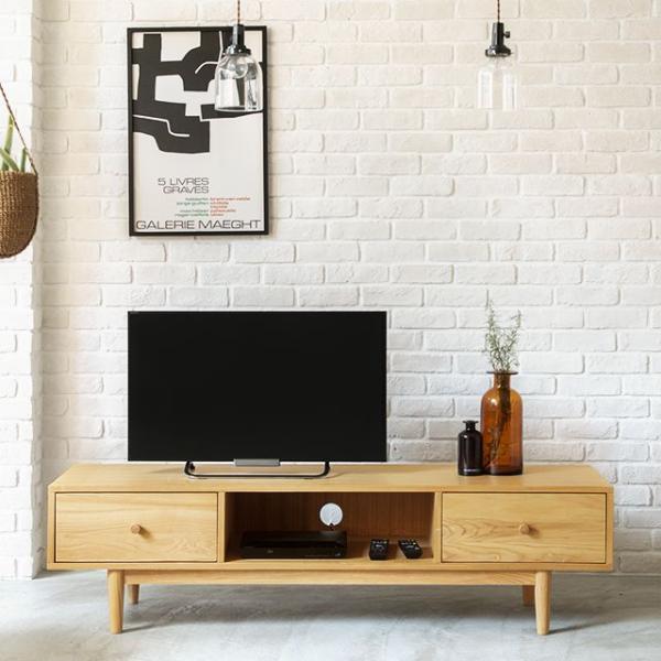 テレビ台 テレビボード Henry 西海岸 北欧 ヴィンテージ ナチュラル 木製 150 おしゃれ 送料無料 夜間指定不可 即日出荷可能
