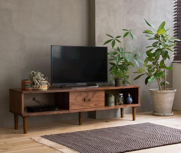 テレビ台 テレビボード Tomte Sサイズ 120cm 北欧 ヴィンテージ インダストリアル 西海岸 木製 ウォールナット 完成品 おしゃれ 送料無料 即日出荷可能