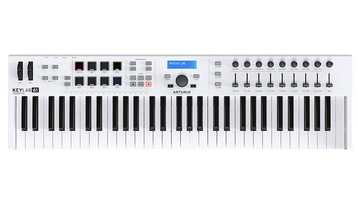 Arturia KEYLAB Essential 61(KEYLAB ESN 61)【61鍵盤】【期間限定!Art of Keys ~ホリデー・プロモーション対象商品(要応募)】