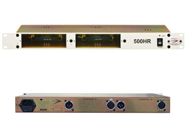 A-Designs The 500HR 2Slot Rack Frame with Power Supply(VPR Alliance)【お取り寄せ】