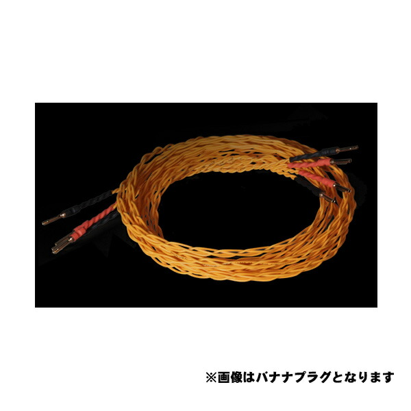 Amphion Speaker Cable 【2.5m】 (スピコン-バナナプラグ) 【ペア】【受注製品・納期1ヶ月程】