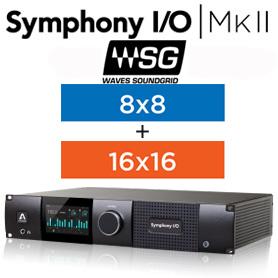 APOGEE Symphony I/O MKII SoundGrid Chassis with 24x24【国内正規品】