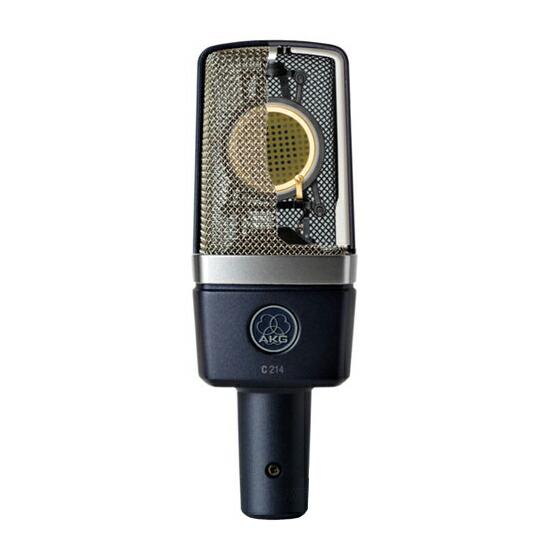 C414直系の高音質コンデンサーマイク AKG C214 【国内正規3ヵ年保証】