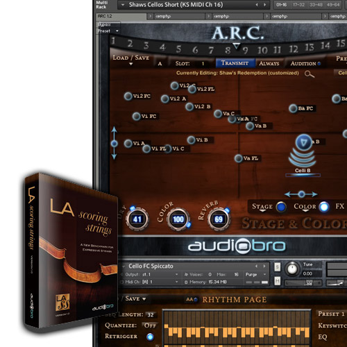 AUDIOBRO LA SCORING STRINGS 2.5 (LASS)