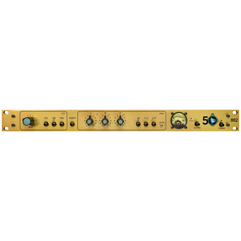 api 862 50th Anniversary Edition Channel Strip(国内正規品)(完全限定製品)