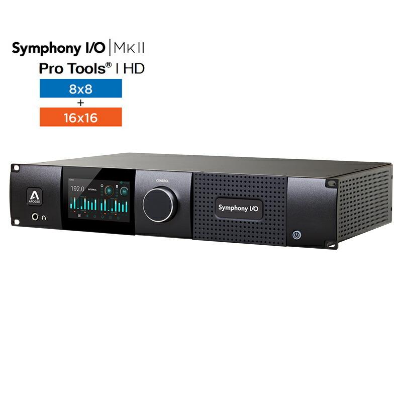 Apogee Symphony I/O MKII PTHD Chassis with 24x24【国内正規品】【p6】