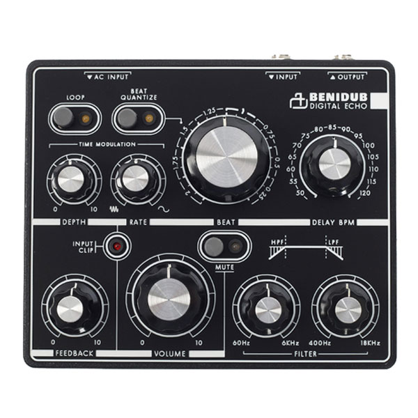 BenidubAudioDigital Echo ダブディレイ