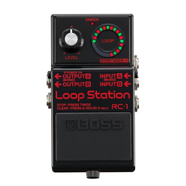 BOSS RC-1-BK [Loop Station] 【2018年限定生産品!】