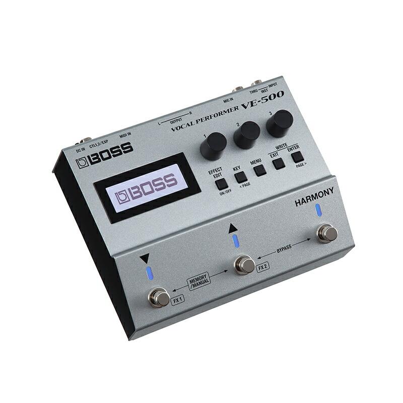 BOSS VE-500(Vocal Guitar Effector)【あす楽対応】【土・日・祝 発送対応】