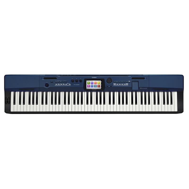 CASIO PX-560MBE Privia【本体重量12kg・軽量ステージピアノ】