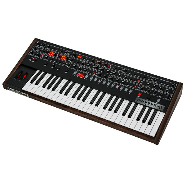 Dave Smith Instruments SEQUENCIAL Prophet-6【台数限定キャンペーン!専用ハードケース・プレゼント】