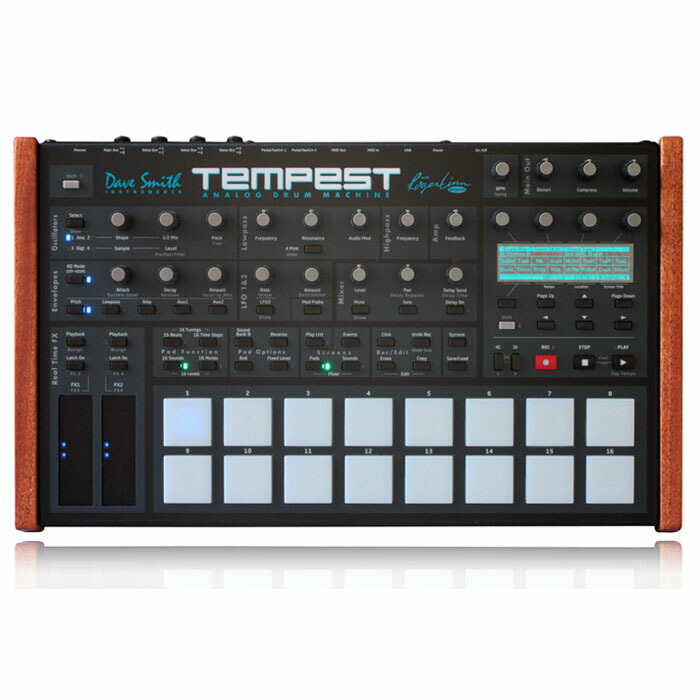 Dave Smith Instruments Tempest【台数限定20%OFF!特別価格】