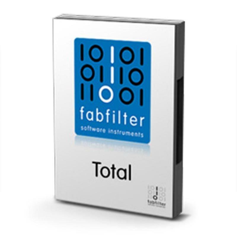 FabFilter Total Bundle(オンライン納品専用)※代金引換、後払いはご利用頂けません。