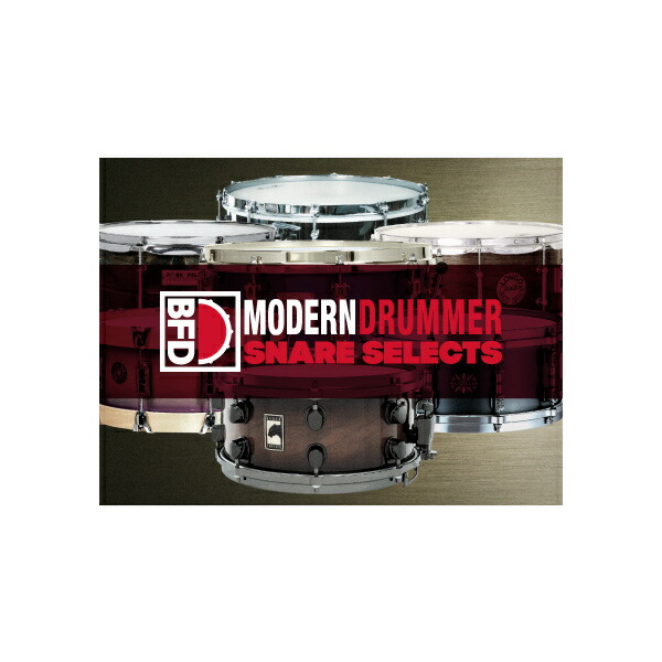 fxpansion BFD3/2 Expansion Pack: Modern Drummer Snare Selects(オンライン納品専用) ※代金引換はご利用頂けません。【送料無料】