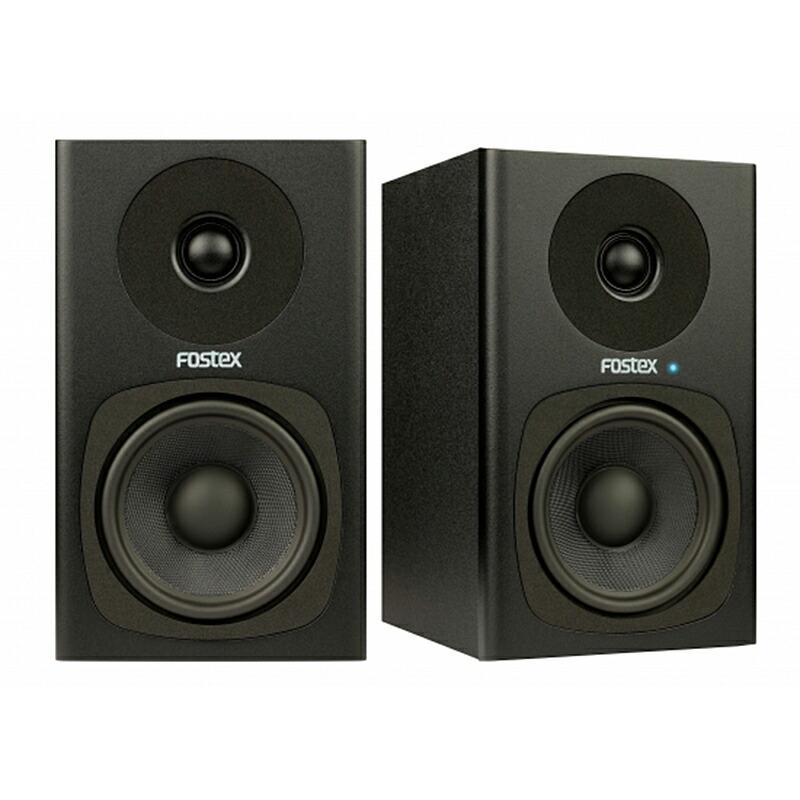 Fostex PM0.4c [Pair] (Black)