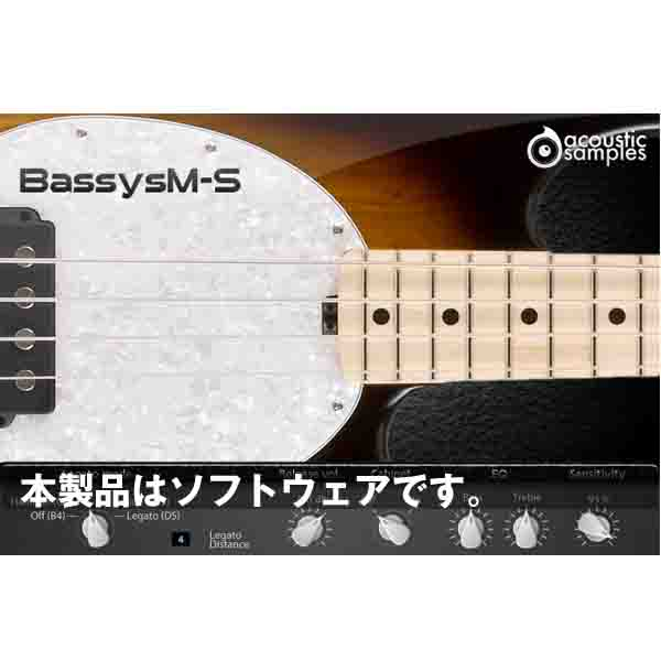 Acoustic Samples Bassysm-S(オンライン納品専用) ※代金引換はご利用頂けません。【送料無料】