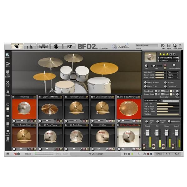 Bosphorus Stanton Moore Series for BFD 2【fxpansion BFD2専用拡張音源】