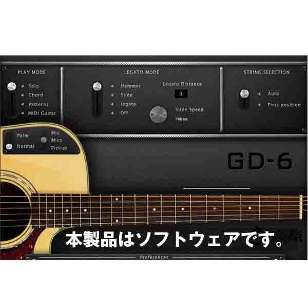 Acoustic Samples GD-6 Acoustic Guitar(オンライン納品専用) ※代金引換はご利用頂けません。【送料無料】