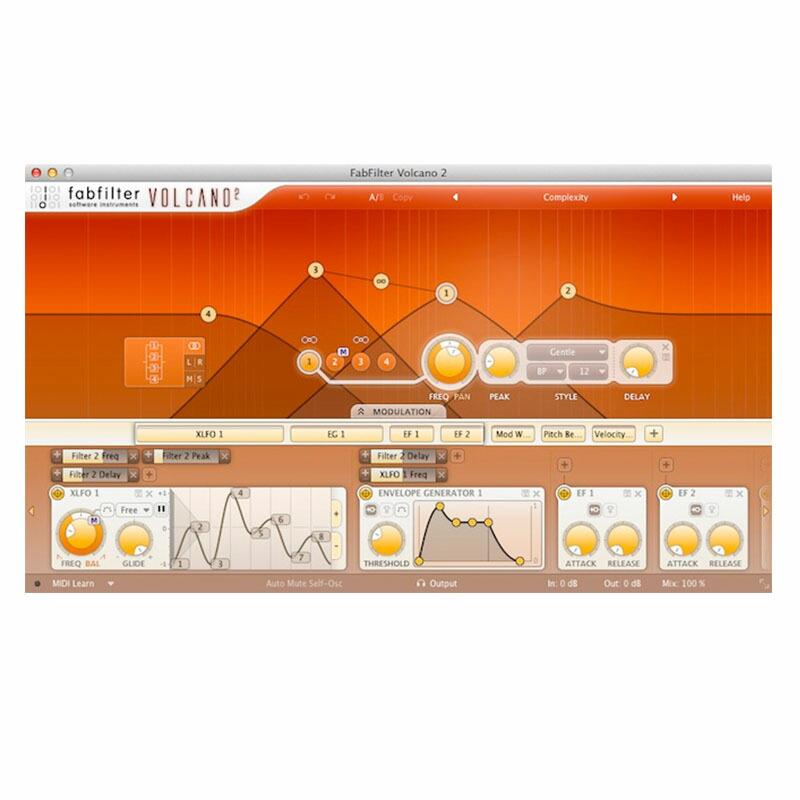 FabFilter Volcano2(オンライン納品専用)※代金引換、後払いはご利用頂けません。