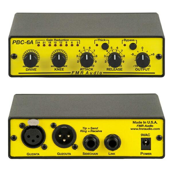 1ch音楽的コンプレッサー 海外 FMR AUDIO 入荷予定 PBC-6A 国内正規品