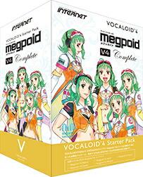 INTERNET VOCALOID4 Starter PackMegpoid V4 Complete
