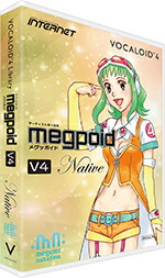 INTERNET VOCALOID4 LibraryMegpoid V4 Native