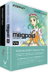 INTERNET VOCALOID4 Starter Pack Megpoid V4 Whisper