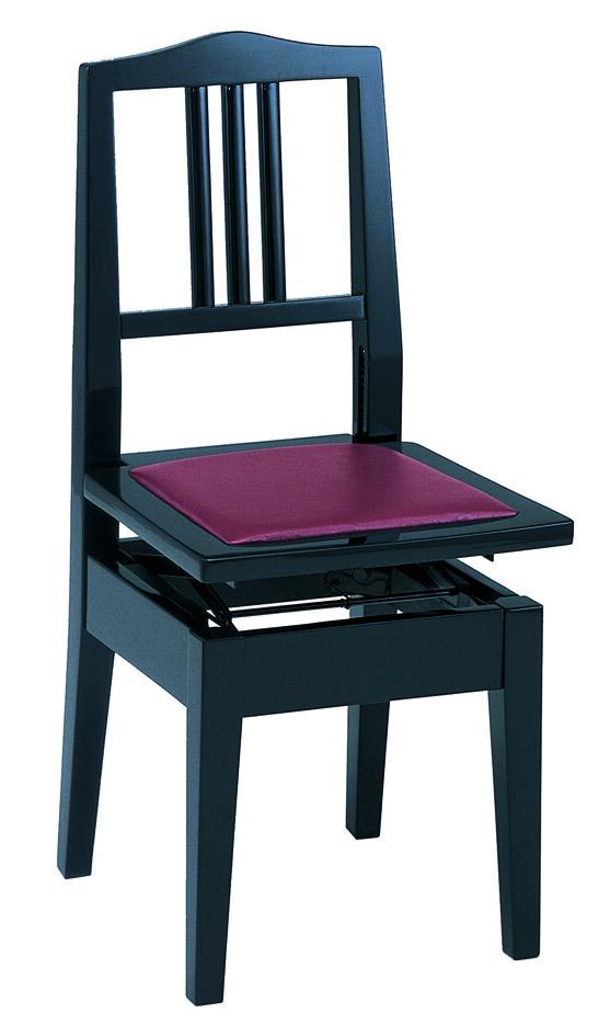 甲南 NO.6 臙脂(エンジ)【ピアノ椅子】