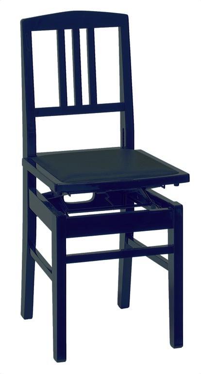 甲南 NO.5 黒(ブラック) or 臙脂(エンジ)【日本製】【ピアノ椅子】