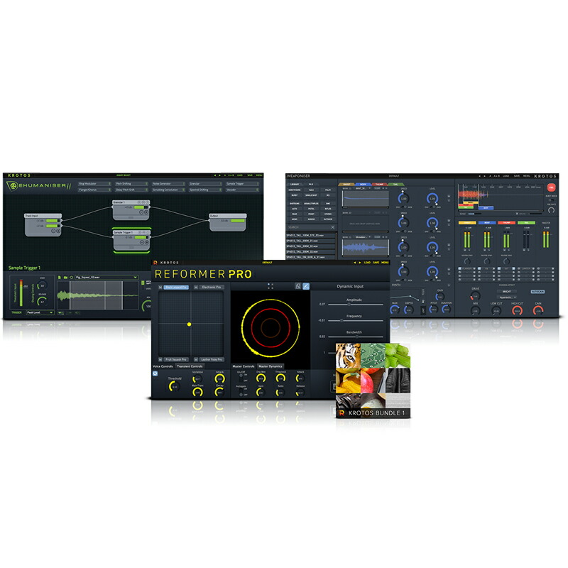 KROTOS Sound Design Bundle(オンライン納品専用) ※代金引換、後払いはご利用頂けません。
