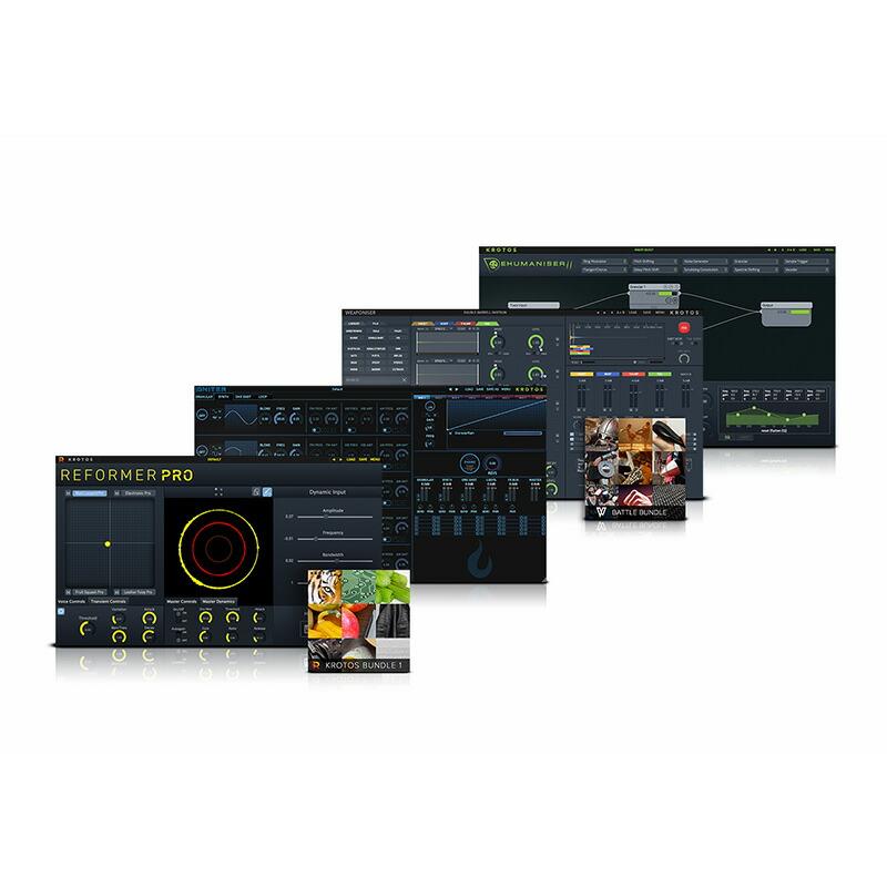 KROTOS Sound Design Bundle 2 (オンライン納品専用) ※代金引換はご利用頂けません。
