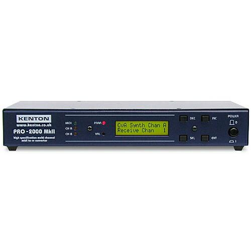 KENTON PRO-2000 MkII【MIDI→CV/GATE/SYNCコンバーター】