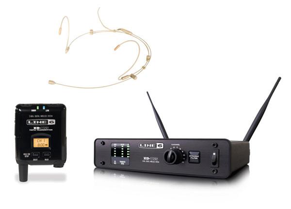 LINE6 XD-V55HS-T [タン](デジタル・ヘッドセットワイヤレス・セット)
