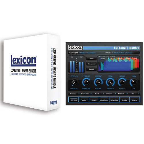 Lexicon LXP Native Reverb Bundle (オンライン納品専用) ※代金引換、後払いはご利用頂けません。【送料無料】