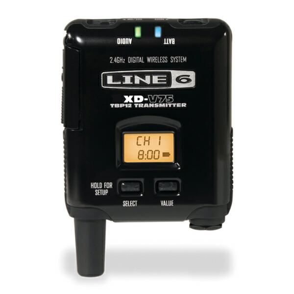 LINE6 V75-BP XD-V75用Bodypack Transmitter