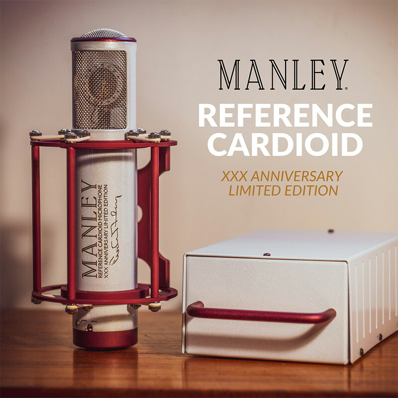 MANLEY Reference Cardioid Microphone XXX Anniversary Limited Edition【世界100台限定生産品】
