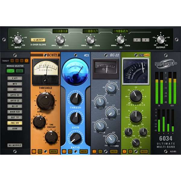 McDSP 6034 Ultimate Multi-band HD v6【iLok別売】