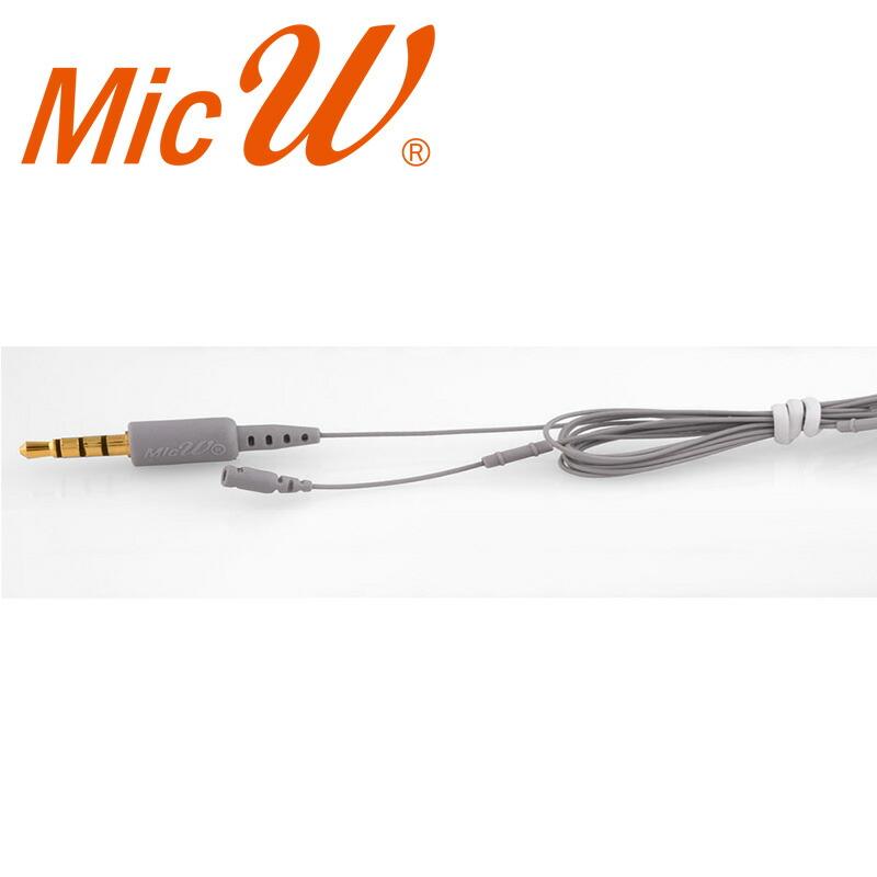 MicW i855(超小型録音用ラベリア・単一指向性)