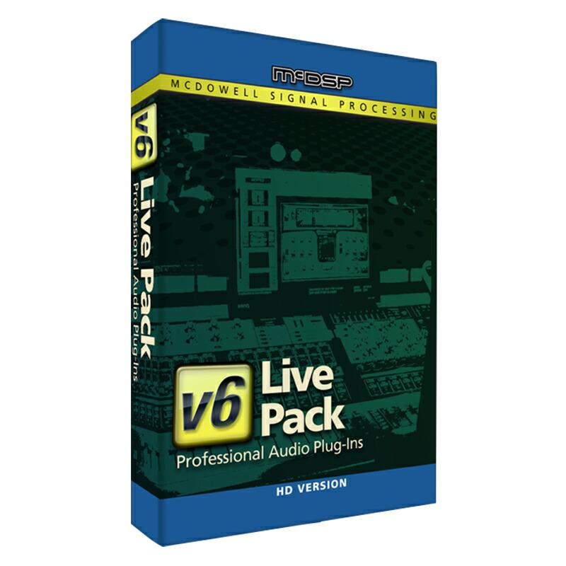 McDSP Live Pack HD v6【iLok別売】