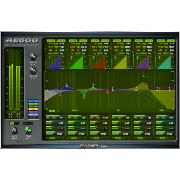 McDSP AE600 Active EQ Native【iLok別売】