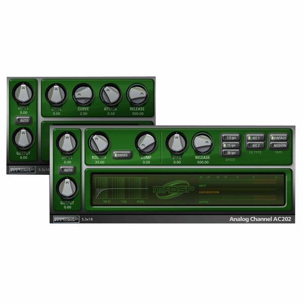 McDSP Analog Channel Native v6【iLok別売】