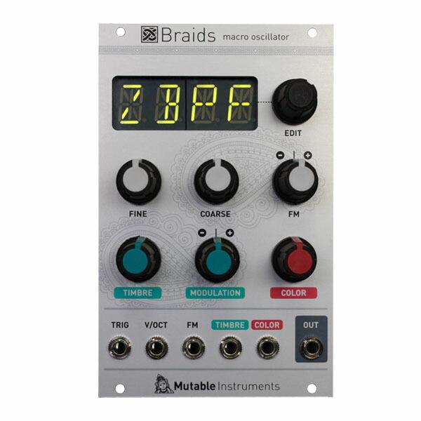 Mutable Instruments Braids Macro oscillator【お取り寄せ】