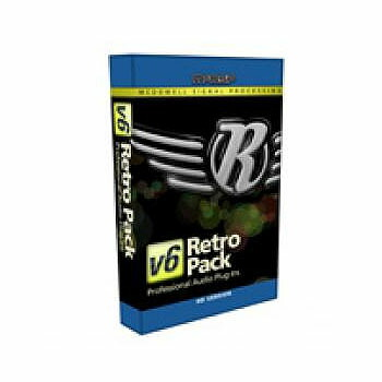 McDSP Retro Pack HD v6【iLok別売】