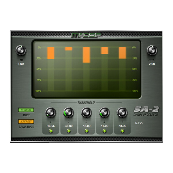 McDSP SA2 Dialog Processor Native 【iLok別売】